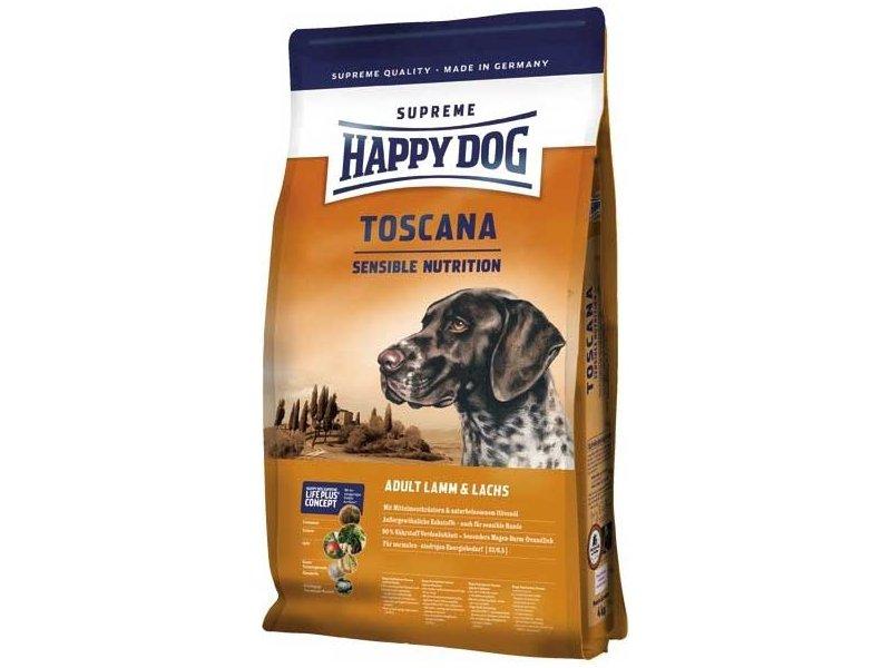 HAPPY DOG SUPREME Toscana 3x12.5 kg + DOPRAVA ZDARMA+Dental Snacks! (+SLEVA PO REGISTRACI/PŘIHLÁŠENÍ! ;))