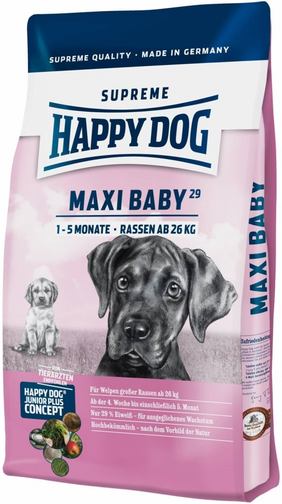 Happy Dog Supreme Maxi Baby 3 x 15 kg