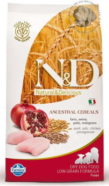 N&D Low Grain Chicken & Pomegranate Puppy Maxi 2x12kg+DOPRAVA ZDARMA+Snacks! (+2% SLEVA PO REGISTRACI/PŘIHLÁŠENÍ!)