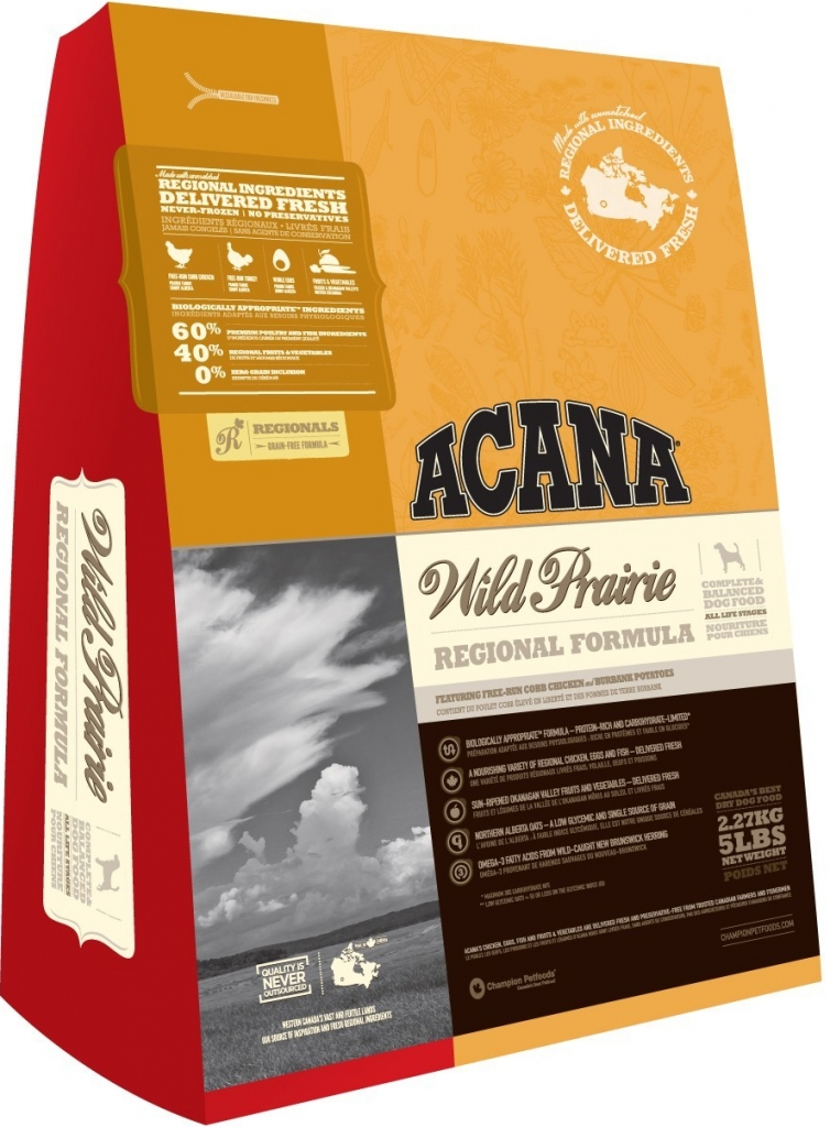 Acana Wild Prairie 2x13kg + DOPRAVA ZDARMA + Dental Snacks ZDARMA!