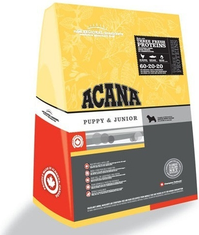 Acana Puppy & Junior 18kg +DOPRAVA ZDARMA+Dental Snacks ZDARMA!