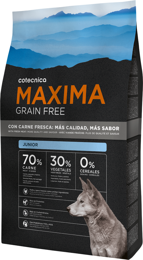 Maxima Grain Free Junior 3kg (+ 2% SLEVA PO REGISTRACI )