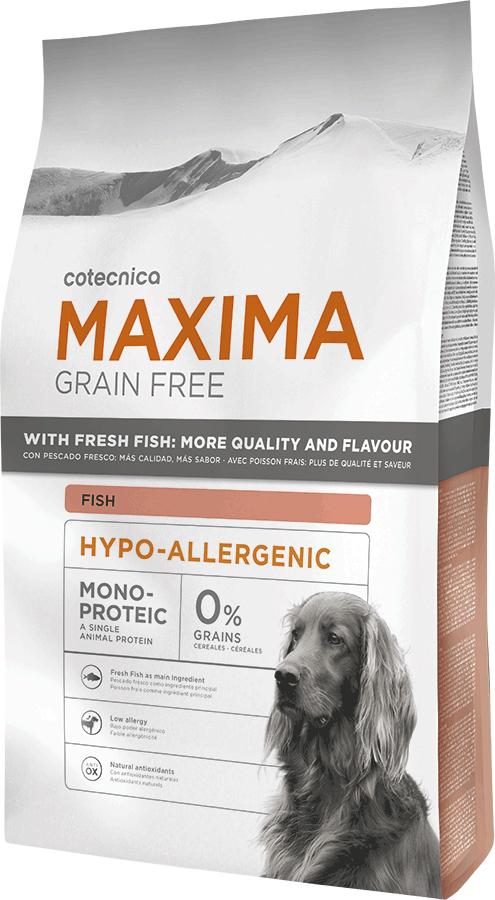 Maxima Grain Free Hypo-Allergenic Fish 3kg (+ 2% SLEVA PO REGISTRACI )
