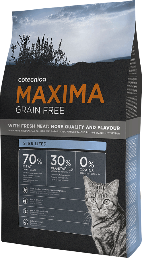 Maxima CAT Grain Free Sterilized 1kg (+ 2% SLEVA PO REGISTRACI )