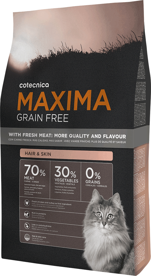 Maxima CAT Grain Free Hair & Skin 1kg (+ 2% SLEVA PO REGISTRACI )
