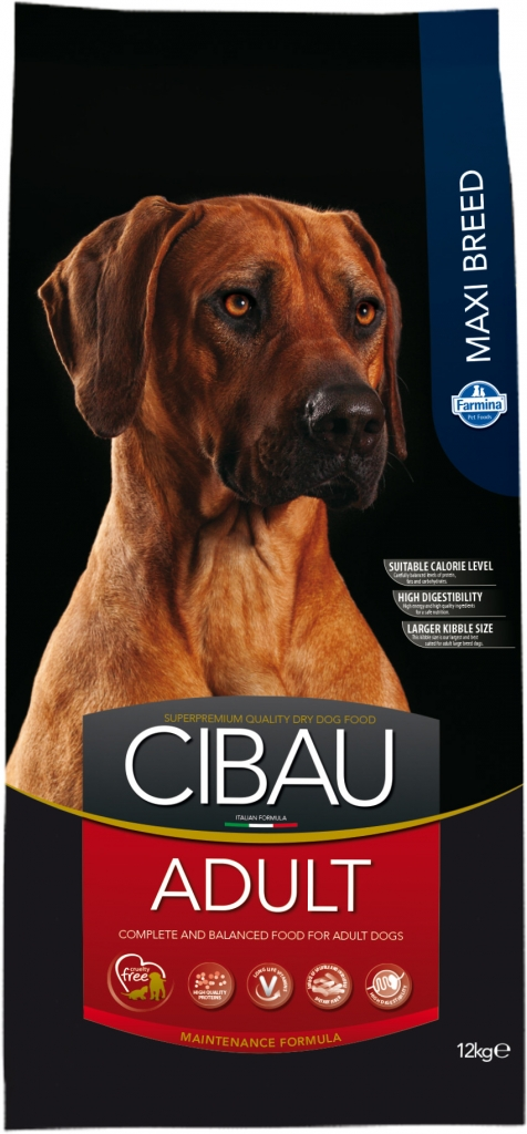 CIBAU Dog Adult Maxi 2x12KG+4kg ZDARMA+ DOPRAVA ZDARMA + DENTAL SNACKS! (+ 2% SLEVA PO REGISTRACI / PŘIHLÁŠENÍ!)