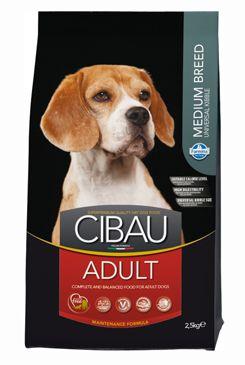 CIBAU Dog Adult Medium 2.5KG (+ 2% SLEVA PO REGISTRACI / PŘIHLÁŠENÍ!)