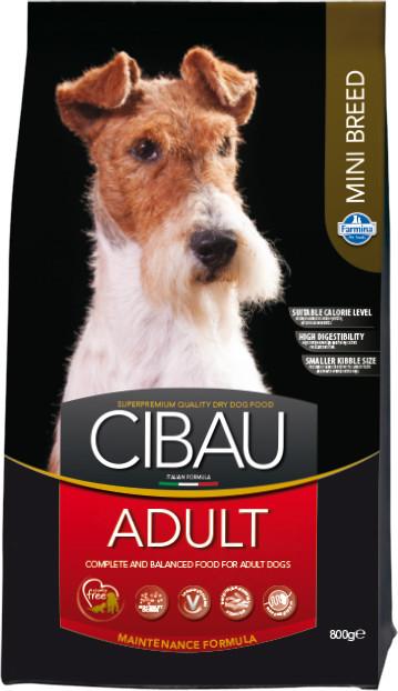 CIBAU Dog Adult Mini 800G (+ 2% SLEVA PO REGISTRACI / PŘIHLÁŠENÍ!)