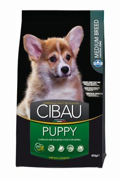 CIBAU Dog Puppy Medium 3x12KG+6kg ZDARMA + DOPRAVA ZDARMA + DENTAL SNACKS! (+6kg ZDARMA NAVÍC do vyprodání + 2% SLEVA PO REGISTRACI / PŘIHLÁŠENÍ!)