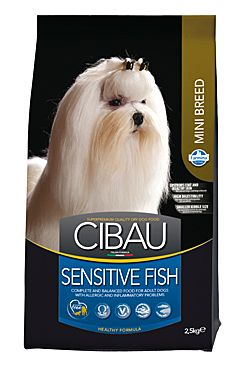 CIBAU Dog Adult Sensitive Fish&Rice Mini 2x2,5KG