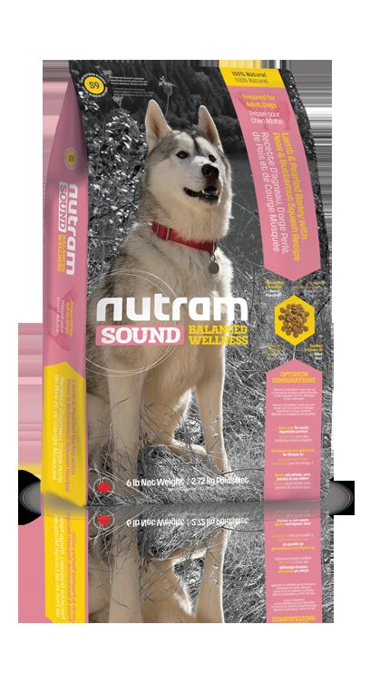 S9 Nutram Sound Adult Lamb Dog 2,72kg (+ 2% SLEVA PO REGISTRACI / PŘIHLÁŠENÍ!)