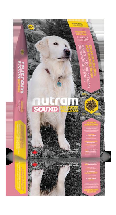S10 Nutram Sound Senior Dog 2,72kg (+ 2% SLEVA PO REGISTRACI / PŘIHLÁŠENÍ!)