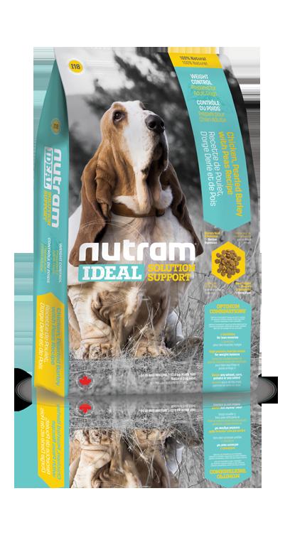 I18 Nutram Ideal Weight Control Dog 2,72kg (+ 2% SLEVA PO REGISTRACI / PŘIHLÁŠENÍ!)