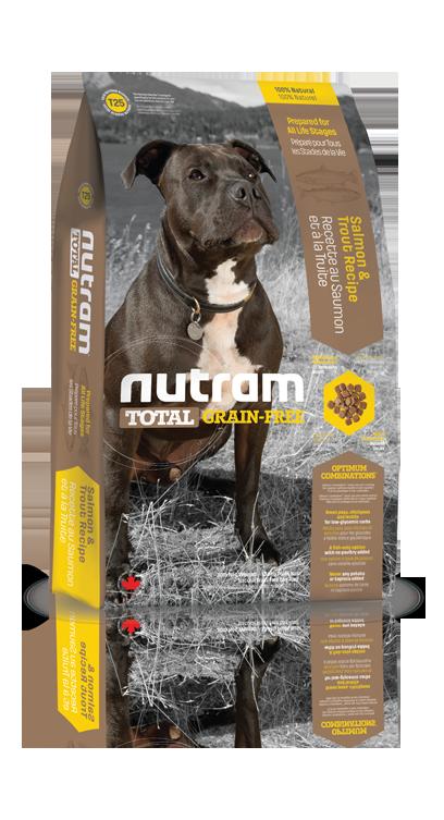 T25 Nutram Total Grain Free Salmon, Trout Dog 2,72kg (+ 2% SLEVA PO REGISTRACI / PŘIHLÁŠENÍ!)