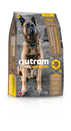 T26 Nutram Total Grain Free Lamb, Legumes Dog 2.72kg