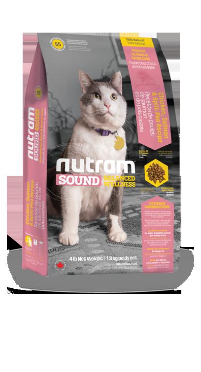 S5 Nutram Sound Adult Cat 6,8kg+DOPRAVA ZDARMA! (+ 2% SLEVA PO REGISTRACI / PŘIHLÁŠENÍ!)