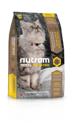 T22 Nutram Total Grain Free Turkey, Chicken, Duck Cat 1,8kg