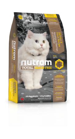 T24 Nutram Total Grain Free Salmon, Trout Cat 1,8kg