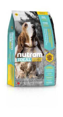 I18 Nutram Ideal Weight Control Dog 2x13,6kg+DOPRAVA ZDARMA+1x Candies