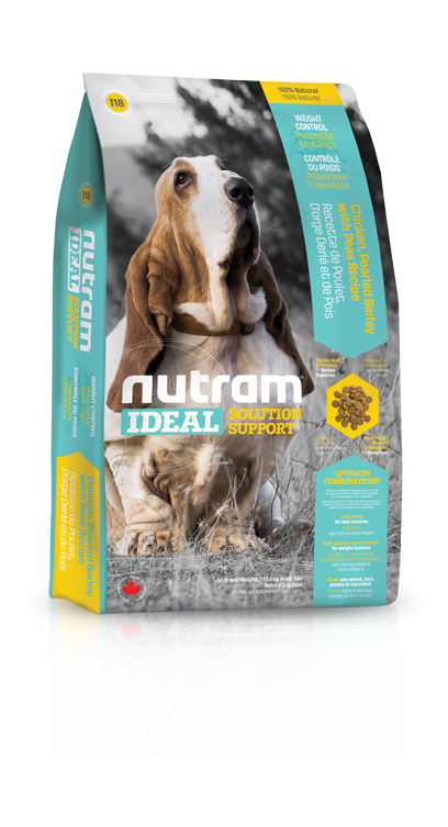 Nutram I18 Ideal Weight Control Dog 3 x 13,6 kg