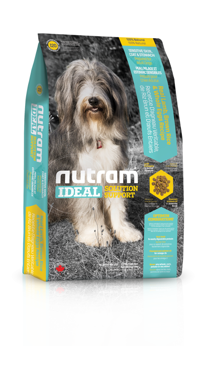 Nutram I20 Ideal Sensitive Dog 3 x 13,6 kg