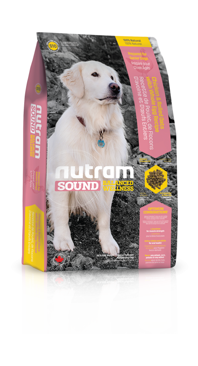 S10 Nutram Sound Senior Dog 2x13,6kg+DOPRAVA ZDARMA+Candies+Nutram dárek! (+ 2% SLEVA PO REGISTRACI / PŘIHLÁŠENÍ!)