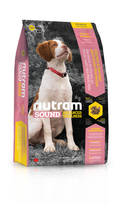 S2 Nutram Sound Puppy 3x13,6kg+DOPRAVA ZDARMA+Candies+Nutram dárek! (+ 2% SLEVA PO REGISTRACI / PŘIHLÁŠENÍ!)