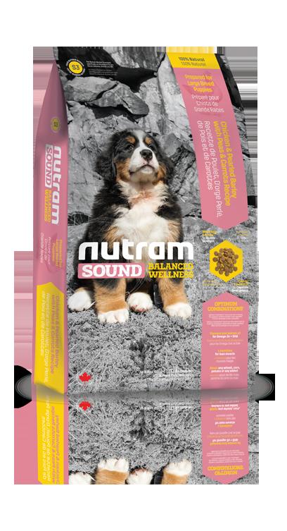 S3 Nutram Sound Large Breed Puppy 2x13,6kg+DOPRAVA ZDARMA+Candies+Nutram dárek! (+ 2% SLEVA PO REGISTRACI / PŘIHLÁŠENÍ!)