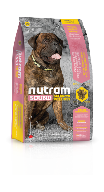 Nutram S8 Sound Adult Large Breed 3 x 13,6 kg