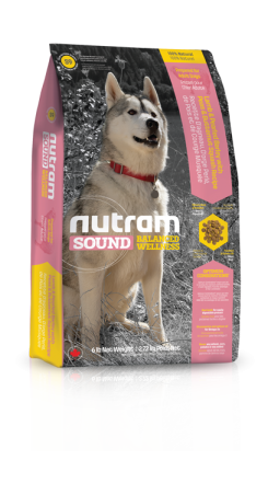 S9 Nutram Sound Adult Lamb Dog 3x13,6kg+DOPRAVA ZDARMA+1x Candies