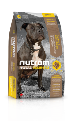 T25 Nutram Total Grain Free Salmon, Trout Dog 3x11,34kg+DOPRAVA ZDARMA+1xCandies