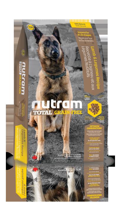T26 Nutram Total Grain Free Lamb, Legumes Dog 2x13,6kg+DOPRAVA ZDARMA+Candies (+ 2% SLEVA PO REGISTRACI / PŘIHLÁŠENÍ!)