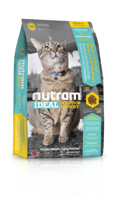 I12 Nutram Ideal Weight Control Cat 2x6,8kg+DOPRAVA ZDARMA! (+ 2% SLEVA PO REGISTRACI / PŘIHLÁŠENÍ!)