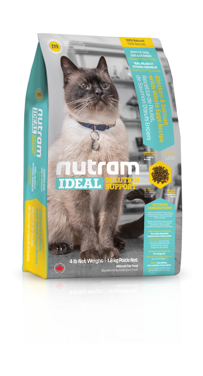 Nutram I19 Ideal Sensitive Cat 2 x 6,8 kg