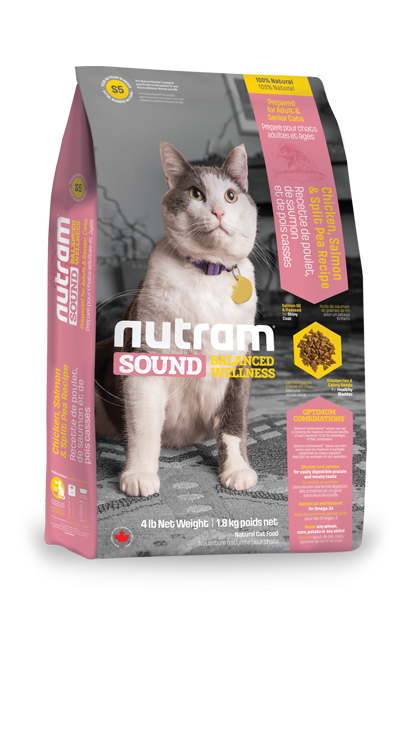 Nutram S5 Sound Adult Cat 2 x 6,8 kg
