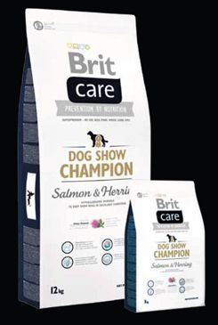 Brit Care Dog Show Champion 2x12kg+DOPRAVA ZDARMA+SNACKS!