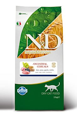N&D LG CAT Adult Lamb & Blueberry 10kg