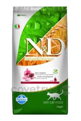 N&D GF CAT KITTEN Chicken & Pomegranate 10kg