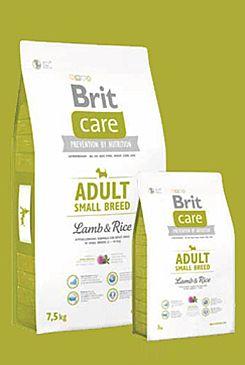 Brit Care Dog Adult Small Breed Lamb & Rice 7,5kg (+ 2% SLEVA PO REGISTRACI / PŘIHLÁŠENÍ!)