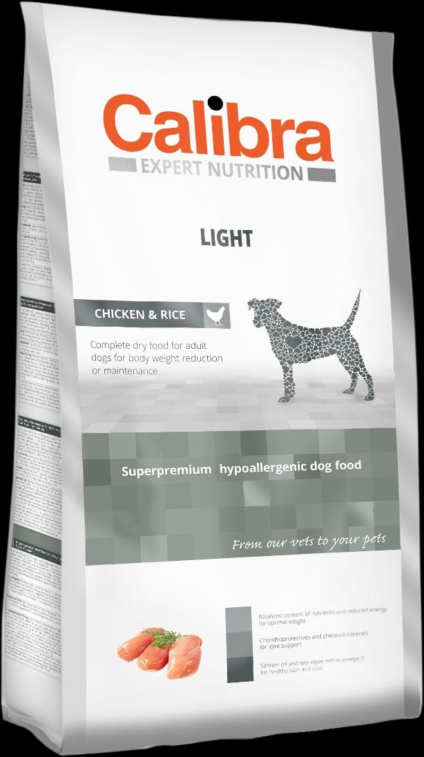 Calibra Dog EN Light 2kg NEW (+SLEVA PO REGISTRACI/PŘIHLÁŠENÍ)