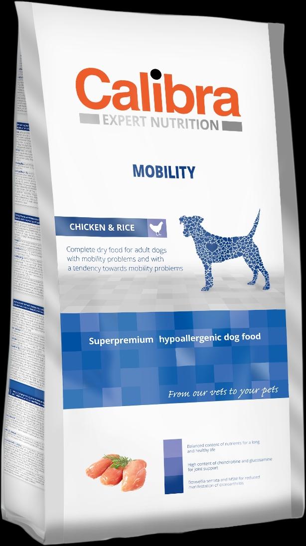 Calibra Dog EN Mobility 3x12kg NEW+DOPRAVA ZDARMA (+SLEVA PO REGISTRACI/PŘIHLÁŠENÍ)