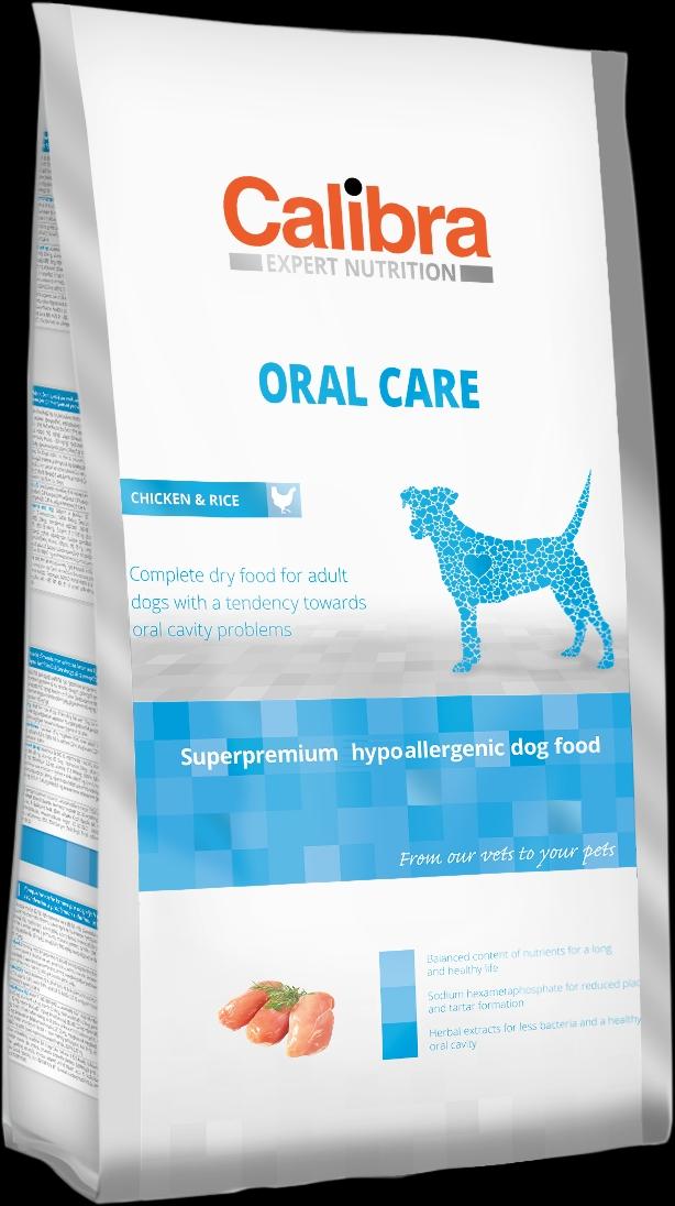 Calibra Dog EN Oral Care 2kg NEW (+SLEVA PO REGISTRACI/PŘIHLÁŠENÍ)
