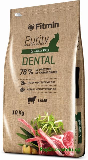 Fitmin Cat Purity Dental 10kg + 2x myška zdarma + DOPRAVA ZDARMA! (+SLEVA PO REGISTRACI/PŘIHLÁŠENÍ)