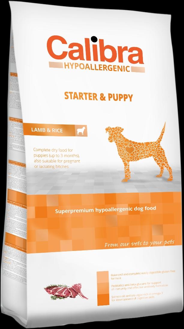 Calibra Dog HA Starter & Puppy Lamb 3kg NEW (+SLEVA PO REGISTRACI/PŘIHLÁŠENÍ)