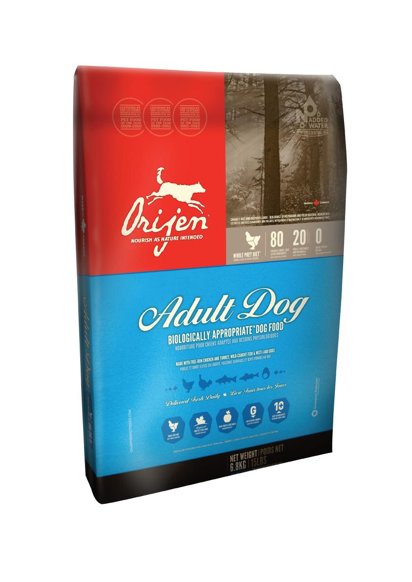 ORIJEN Dog Adult 13 kg + DOPRAVA ZDARMA + Dental Snacks ZDARMA! (+ 2% SLEVA PO REGISTRACI / PŘIHLÁŠENÍ!)