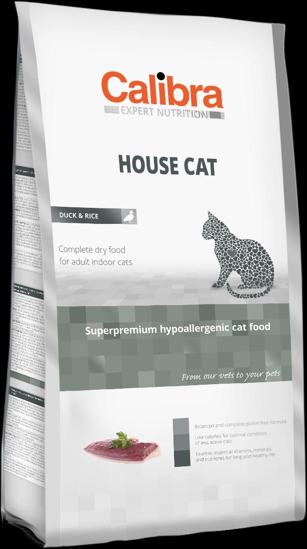 Calibra Cat EN House Cat 2kg NEW (+SLEVA PO REGISTRACI/PŘIHLÁŠENÍ)