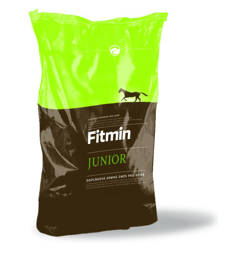 Fitmin horse JUNIOR 25 kg (VÝRAZNÁ SLEVA při osobním odběru v Říčanech u Prahy)