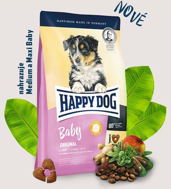 HAPPY DOG Baby Original 18kg