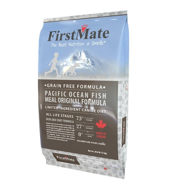 FirstMate Pacific Ocean Fish Original 13kg+100 Kč bonus + Dental Crazy Snacks + DOPRAVA ZDARMA!