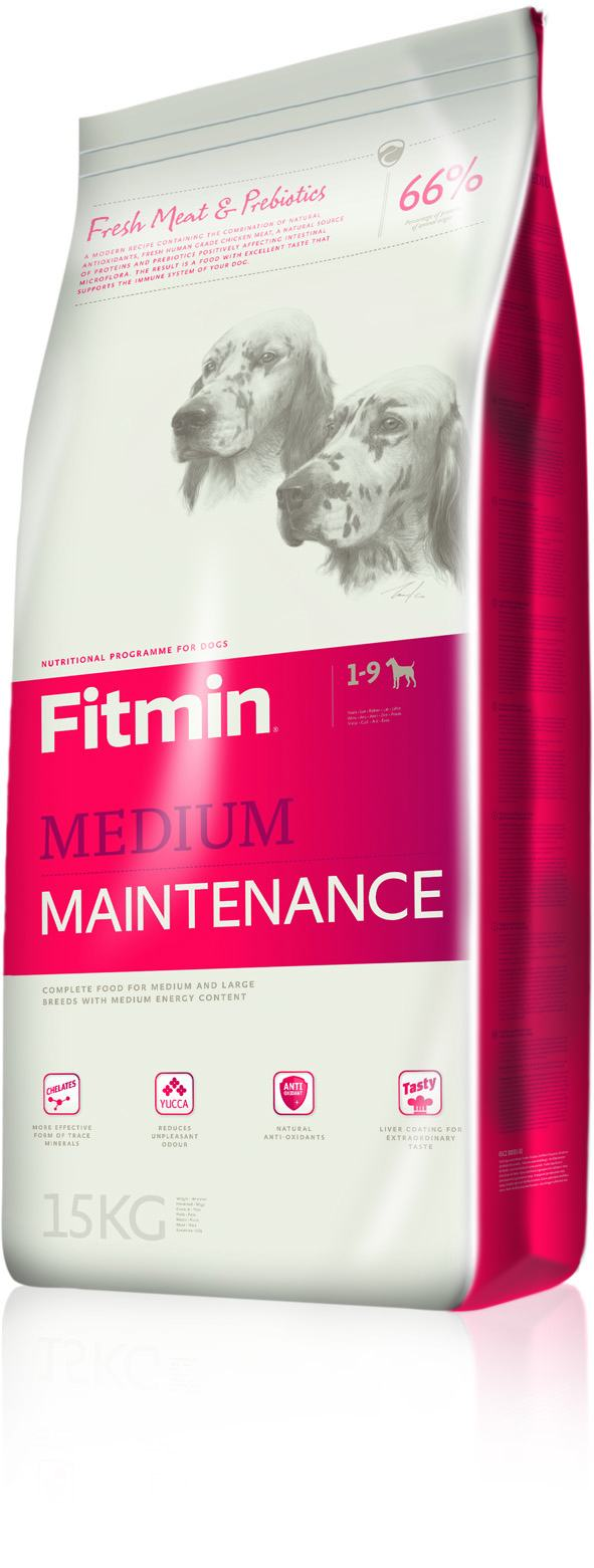 Fitmin dog medium maintenance 15 kg  (5x3kg)+ DOPRAVA ZDARMA!